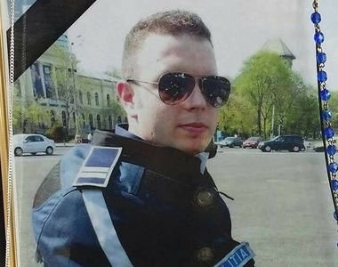 Mesajul sfasitor al mamei lui Bogdan Gigina. Politistul ar fi implinit 31 de ani....