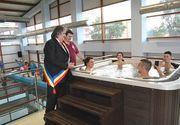 Un centru SPA din Lugoj zace in paragina desi a fost inaugurat cu mare fast acum doi ani