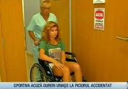 """Exatlon! Gimnasta Silvia Stroescu in scaunul cu rotile: """"A fost un soc?"""". Ce s-a intamplat cu piciorul sportivei"""