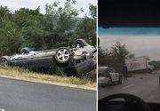 Primele imagini de la accidentul in care a fost implicat presedintele Republicii Moldova. Care este starea sefului statului