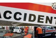 Accident grav in Cluj! O ambulanta care transporta pacienti la dializa a fost lovita in plin de o masina. Sunt mai multe victime