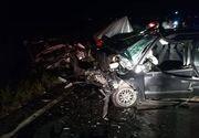 Un tanar de 26 de ani din Nadlac este in coma in urma unui accident socant. Doua masini s-au lovit frontal la iesirea de pe autostrada