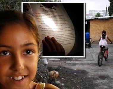 In 2018, la 10 kilometri de centrul Bucurestiului, cinci copii invata la lumina...