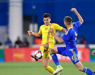 Se vede calificarea! Nationala de tineret a invins cu 2-0 selectionata Bosniei si...