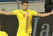 VIDEO Bijuterie de gol! Fiul lui Gica Hagi a marcat direct din corner in victoria cu Bosnia!