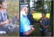 Video. Politistii din Sectorul 3 au lovit si au legat cu catusele un copil care pescuise in lacul IOR