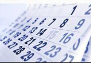 Zilele libere in 2019 conform calendarului sarbatorilor legale