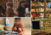 Salariul minim, insuficient pentru cosul minim de cumparaturi. Aproape jumatate din banii romanilor se duc pe alimente