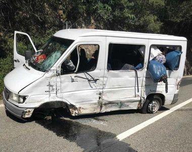 Accident cumplit intre Valcea si Sibiu! Sunt peste 13 raniti. A fost activat planul...