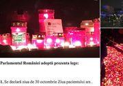 """Parlamentarii pun sare pe ranile victimelor de la Colectiv! Initiativa revoltatoare: Ziua de 30 octombrie - """"Ziua pacientului ars"""""""