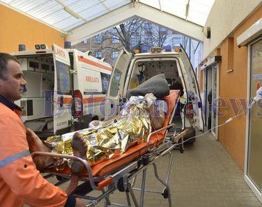 Un barbat din Botosani a incercat sa se sinucida la locul de munca si s-a aruncat...