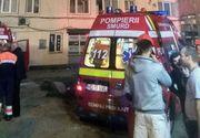 Incendiu puternic la Petrila. Doi copii se numara printre victime si zeci de persoane au fost evacuate