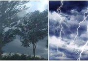 Anunt de ultima ora al meteorologilor! A fost instituit COD GALBEN de furtuni in mai multe judete!