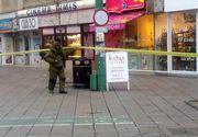 Un colet suspect aflat in zona Garii de Nord din Timisoara a fost detonat. Elementele din interior ar putea compune o bomba