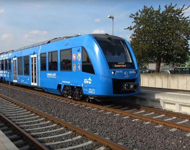 Premiera istorica. Video! Trenul cu hidrogen circula deja pe caile ferate din Germania