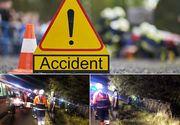 Accident grav, in aceasta dimineata, in Teleorman! Un microbuz cu pasageri s-a rasturnat. Patru persoane au fost grav ranite