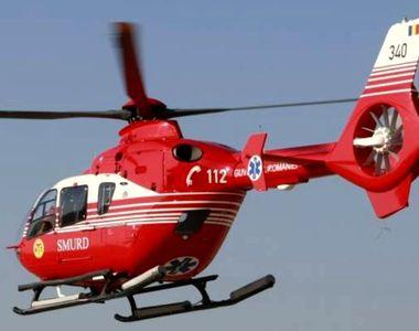 O femeie din Prahova si-a dat foc pentru ca a vrut sa se sinucida. Un elicopter SMURD a...