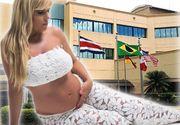 Steagul Romaniei a fost arborat la spitalul unde a nascut Elena Udrea! Fostul ministru a platit 5.000 de dolari clinicii din Costa Rica!