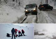 A nins abundent in Fagaras! Interventia dramatica a salvamontistilor pentru salvarea unui tanar care si-a rupt piciorul