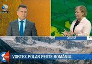 Un val de aer polar aduce iarna in Romania! Meteorologii anunta temperaturi scazute in urmatoarea perioada