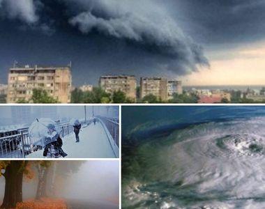 "Meteorologii anunta un fenomen extrem care  va lovi Romania: ""Asa s-au pozitionat..."