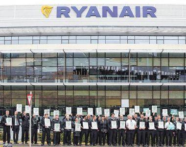 Anunt al MAE: Greva a personalului de bord al companiei Ryanair in Germania, Olanda,...