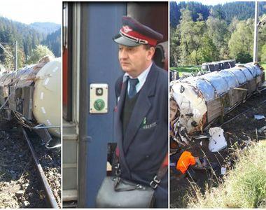 Trafic feroviar blocat in Suceava dupa ce o cisterna s-a rasturnat pe calea ferata
