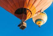 Panica in Mures! Opt baloane cu aer cald au fost duse de curenti in Munti