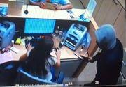 Tentativa esuata de jaf la o banca din Sectorul 2 al Bucurestiului - Hotul a fugit speriat!