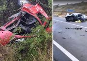 Accident devastator in localitatea clujeana Huedin! Trei barbati au murit si alti doi sunt in stare grava. Cel mai probabil unul dintre soferi a adormit la volan