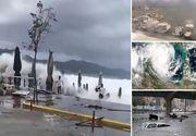 Ciclonul Zorbas, care a facut ravagii in Grecia, a ajuns in Romania. La ce sa ne asteptam orele urmatoare
