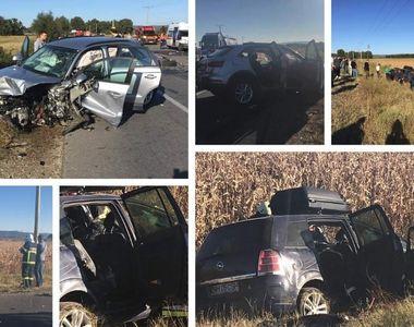 """Duminica neagra pe soselele din Romania! Accident cumplit in Vrancea, pe """"Drumul..."""