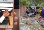Un interlop din Craiova a murit in timpul unui videocall facut la volan. Imagini dramatice surprinse LIVE - Barbatul conducea un Porsche Cayenne