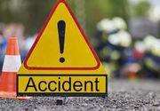 Accident grav in Sibiu. Trei raniti, printre care si un copil de 1 an si 6 luni