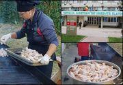 S-au incins gratarele in curtea spitalului din Slatina! De ce au recurs cei din conducere la aceasta solutie de a prepara hrana pacientilor