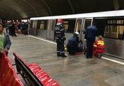O femeie a fost lovită de metrou în staţia Aurel Vlaicu
