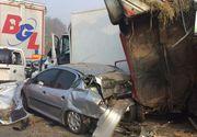 Cel puţin şase morţi şi 27 de răniţi în urma unor accidente pe o autostradă în Serbia