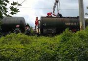 Tragedie in gara din Focşani! Un tânăr a murit, iar altul este în stare gravă după ce s-au urcat pe un vagon de tren şi s-au electrocutat