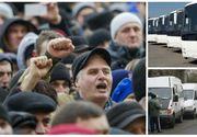 România paralizată! Microbuzele şi autocarele nu vor circula astăzi, în urma unei greve generale a transportatorilor