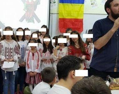 Calugarul cu rang in Arhiepiscopia Tomisului, care a filmat cu telefonul niste elevi pe...
