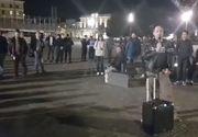 Protest la Cluj, după decizia dată de Înalta Curte de Casaţie şi Justiţie. Oamenii au ieşit în stradă pentru a contesta noua lege