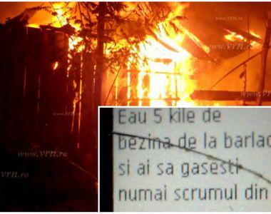 Un vasluian înşelat de către soţie s-a răzbunat pe amantul femeii. El a dat foc casei...