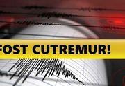 Cutremur în România, în această dimineaţă. Unde s-a produs