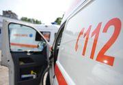 Un angajat de la serviciul Braşov a fost concediat şi este cercetat penal ,după ce s-a răsturnat cu Salvarea în şanţ