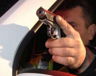 Urmărire ca în filme pe Centura Bucureştiului! Poliţiştii au tras mai multe focuri de armă