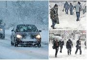 Valul de aer polar vine peste România! Zonele în care s-a aşternut deja zăpada!