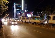 Bărbat lovit de tramvai, în zona Plaza România. s-a dezechilibrat şi a căzut de pe refugiu pe calea de rulare