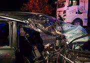 Accident mortal la Gherla! Un tânăr de numai 28 de ani a intrat cu maşina într-un TIR