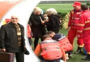 Momente dramatice la căpătâiul lui Ilie Balaci. Soţia lui s-a prăbuşit pe terenul de fotbal, iar mama acestuia îşi strigă durerea