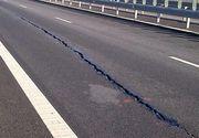 Autostrada Bucureşti-Nădlac, din nou în impas, după ce un tronson întreg s-a surpat